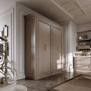 traditional storage cabinet for kitchen