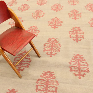 hand-knotted carpet / wool / silk / home