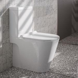 free-standing toilet
