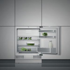 internal freezer compartment refrigerator-freezer / home / undercounter / white