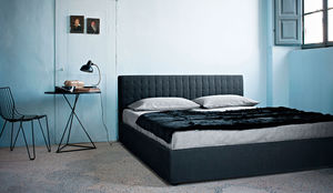 double bed / single / contemporary / upholstered