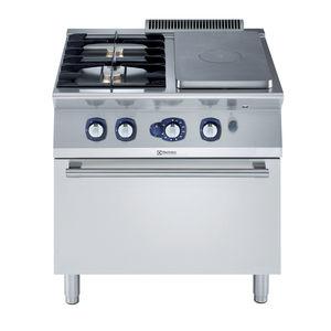 gas range cooker / commercial / cast iron / 2 burners