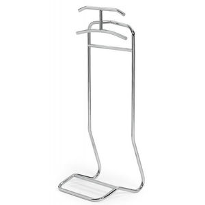 floor-mounted valet stand / contemporary / metal