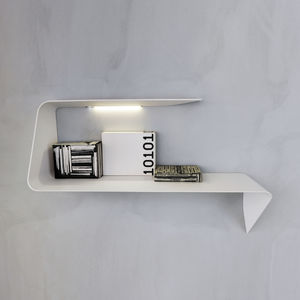 wall-mounted shelf / contemporary / Cristalplant® / illuminated