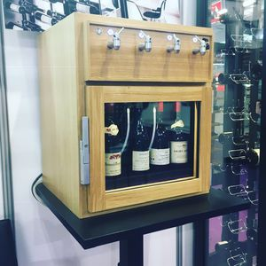 wine-by-the-glass dispenser