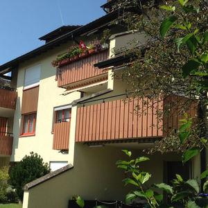 balcony with bars