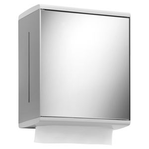 wall-mounted paper towel dispenser / aluminum / for hotel / for hospitals