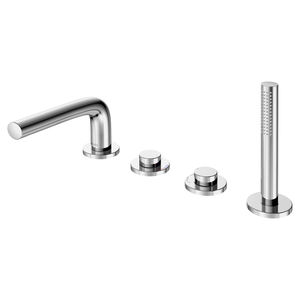 double-handle bathtub mixer tap