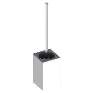 plastic toilet brush holder / floor-mounted / for hotels