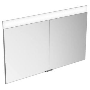 home bathroom cabinet / contemporary / metal / wall-mounted