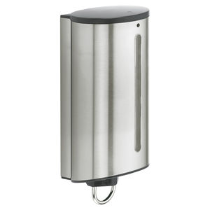 wall-mounted soap dispenser