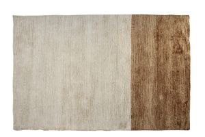 vintage rug / plain / polyester / cotton