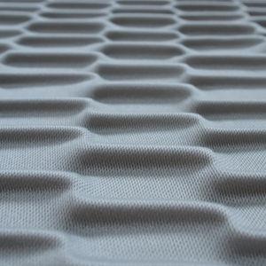 interior acoustic panel / fabric / decorative / 3D