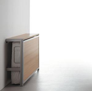 wall bed / single / contemporary / folding