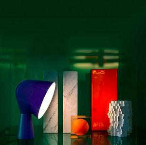 table lamp / original design / polycarbonate / ABS