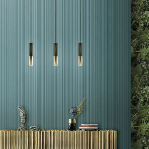 velvet wallcovering / synthetic fiber / home / commercial