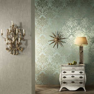 Baroque style wallpaper