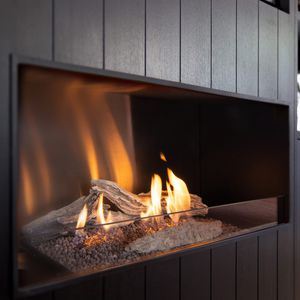 bioethanol fireplace / contemporary / open hearth / built-in
