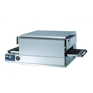 commercial pizza oven / electric / conveyor / free-standing