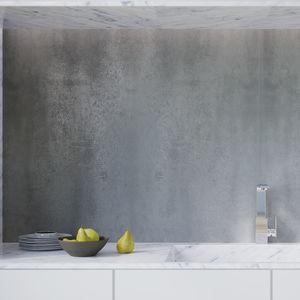 HDF laminate flooring / click-fit / concrete look / home