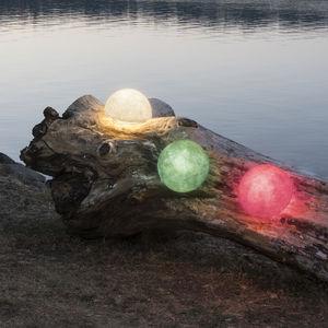 portable lamp / contemporary / fiberglass / in Nebulite®