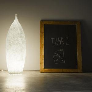 floor-standing lamp / contemporary / in Nebulite® / handmade