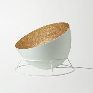 floor-standing lamp / original design / steel / in Nebulite®