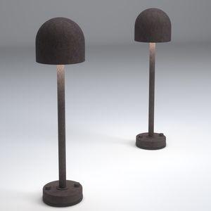 garden bollard light / contemporary / aluminum / LED