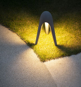 floor lamp / contemporary / cement / LED