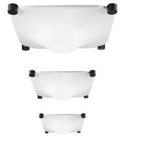 original design ceiling light / square / methacrylate / LED