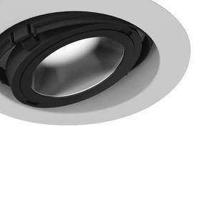 recessed downlight / LED / round