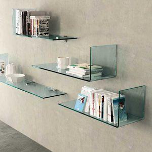 wall-mounted shelves