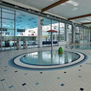 indoor tile / pool / floor / porcelain stoneware