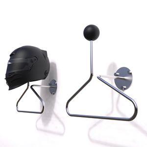 stainless steel helmet holder