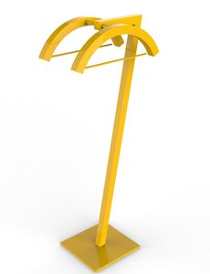 floor-mounted valet stand