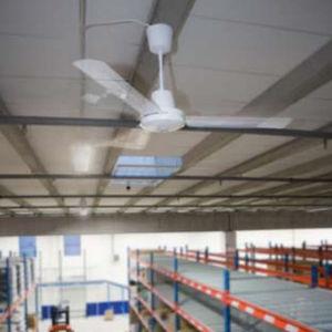 ceiling fan / commercial / industrial / metal
