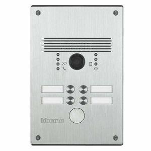 door station with fingerprint reader
