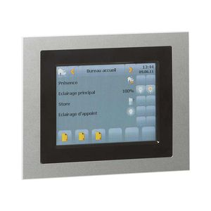 access control touch screen / wall-mounted / KNX