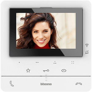 video door intercom with color screen