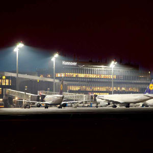 IP66 floodlight / LED / for airports / outdoor