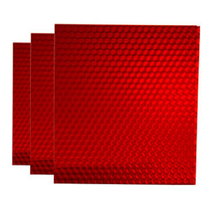 honeycomb polycarbonate panel / building / translucent / colored
