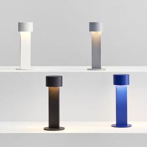 portable lamp / minimalist design / aluminum / dimmable