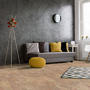 cork raised access floor / high-resistance / acoustic / non-slip