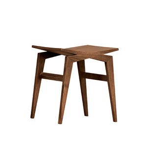 contemporary stool / ash / for public spaces