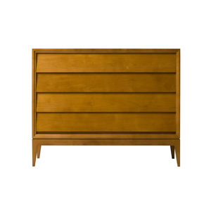 contemporary chest of drawers / cherrywood