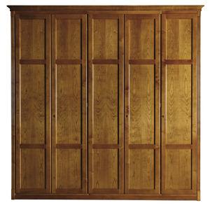 modular wardrobe / Directoire style / wooden / with hinged door