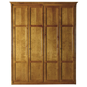 modular wardrobe / Directoire style / cherrywood / with hinged door