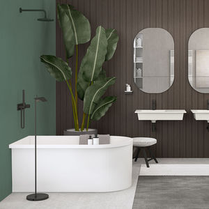 freestanding bathtub / LivingTec® / deep