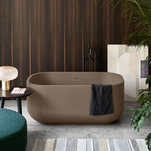 freestanding bathtub / oval / LivingTec®