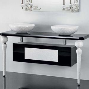 bathroom base cabinet / wall-mounted